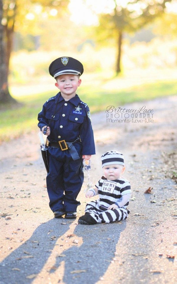 Little Police Officer Epic Halloween Costumes
