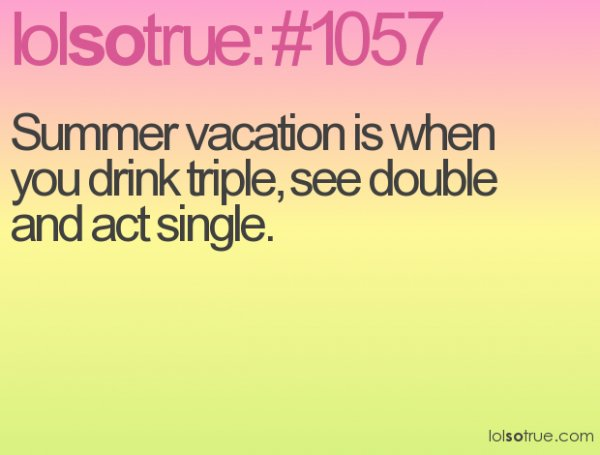 Summer is Meant for Partying