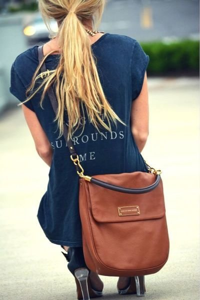 Camel Satchel Bag