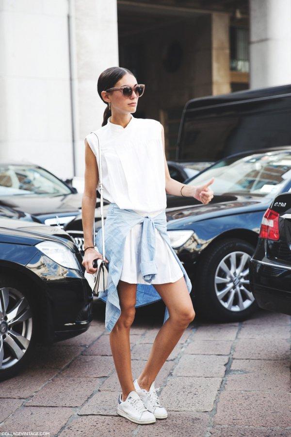 Oh-so-Sassy: Shirt Dress