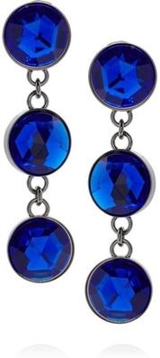 Miu Miu Plexiglass Drop Clip Earrings