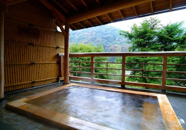 Relax in an Onsen, Hakone