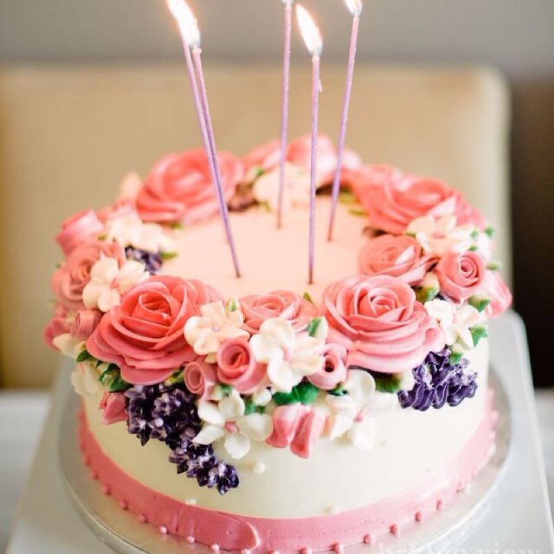 Photos Of Beautiful Birthday Cake : Cute & Beautiful Birthday Cakes from Pinterest ??   Community