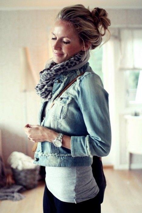 14 Gorgeous Jean Jacket Ensembles for Fall ... Fashion