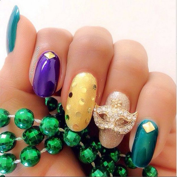 finger,nail,green,nail care,hand,