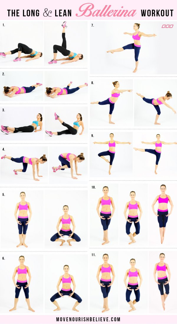 The Long Lean Ballerina Workout 22 Leg Workouts You Must Be