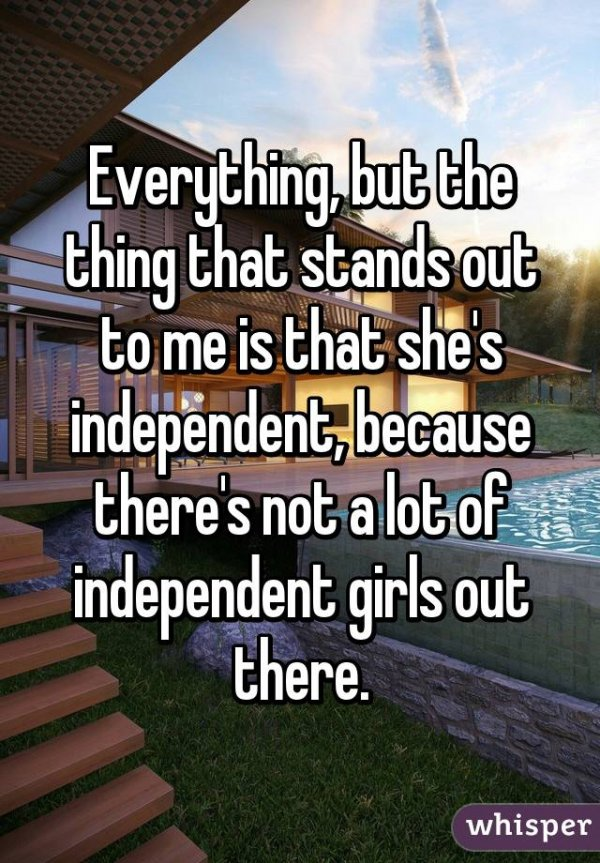 She's Independent