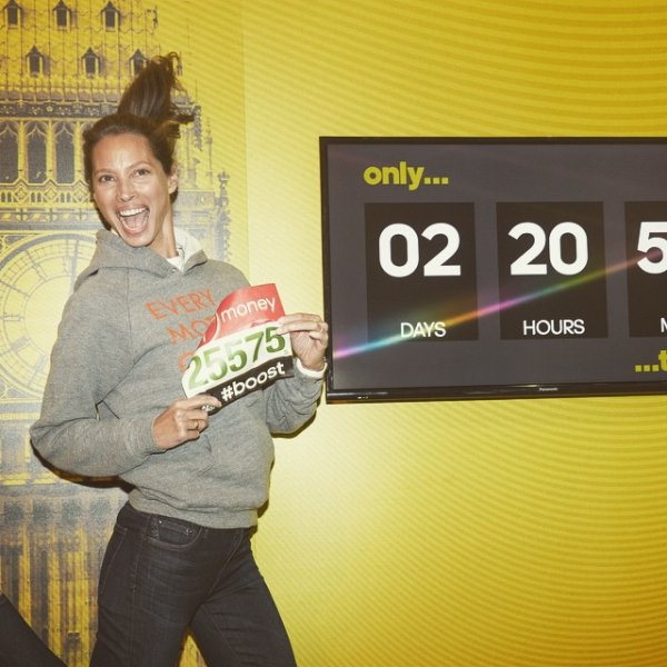 Christy Turlington Runs Marathons