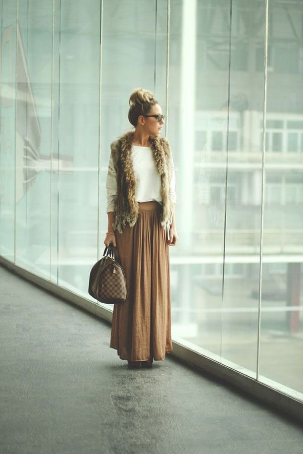 how to wear maxi skirt in winter here s 38 ways to wear