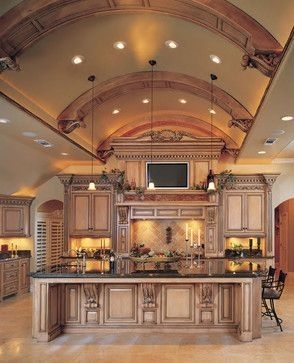 30 High Ceilings 40 Magnificent Luxury Kitchens To