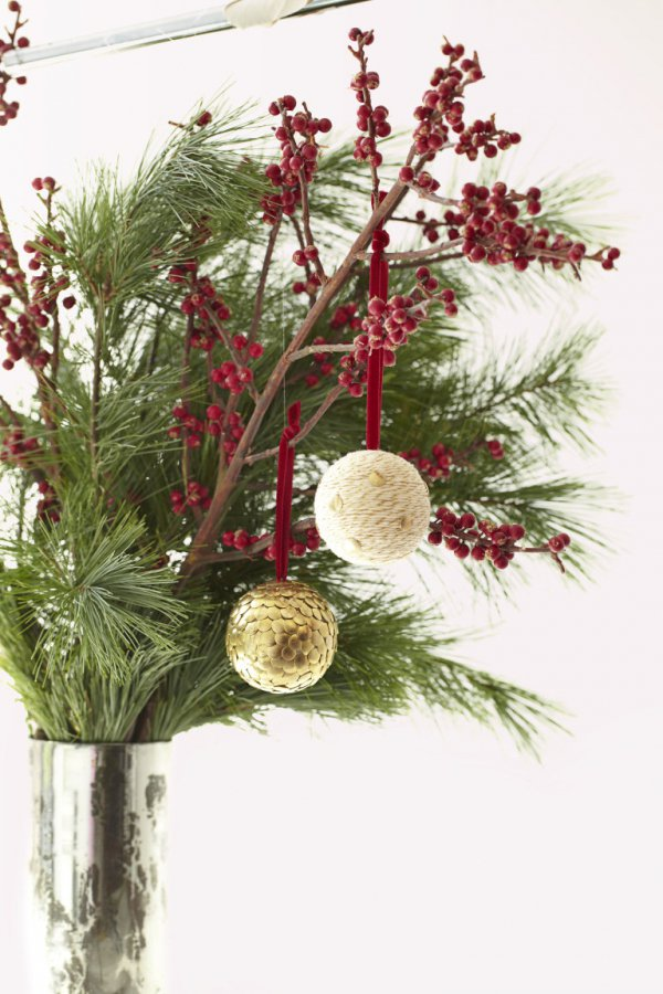 flower arranging, tree, branch, floristry, christmas decoration,