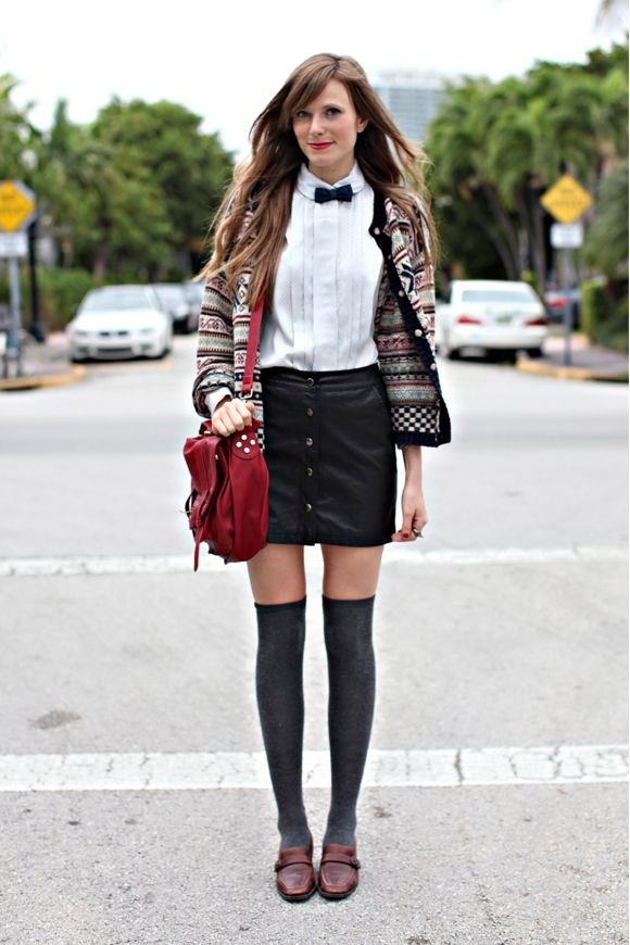 Uniform Inspired 7 Street Style Ways To Look Preppy This Summer