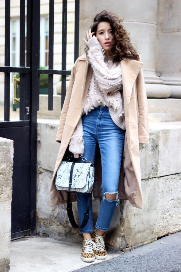 With a Fluffy Jumper and a Coat
