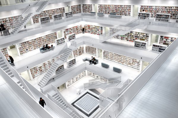 Stuttgart Library, Germany