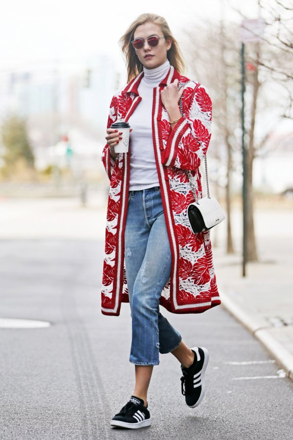 clothing,red,footwear,outerwear,spring,