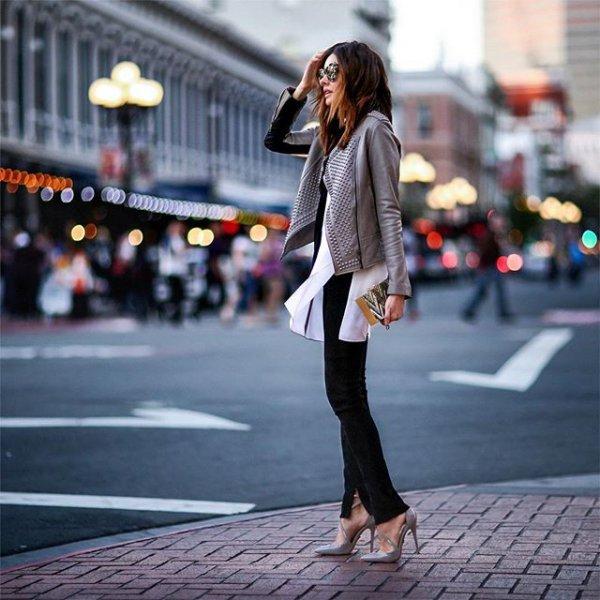 road, black, clothing, street, snapshot,
