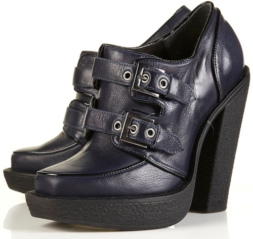 Topshop Phantom Platform Creeper Shoes