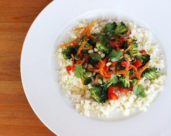 19. Cauliflower Rice Stir Fry - Healthy Meals for One You Can Prepare ...