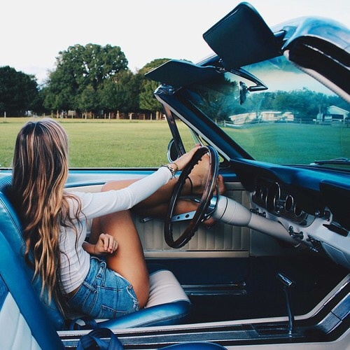 Drive a Convertible with the Top down