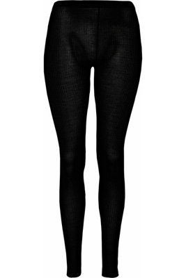 Joseph Ribbed Knitted Silk Leggings - 8 Luxe Black Leggings ... →…