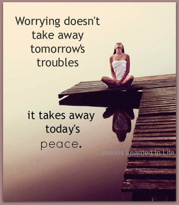 There's No Point in Worrying