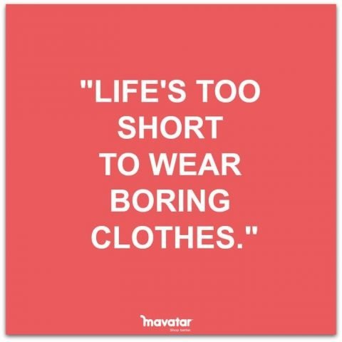 Life Lessons - 14 Hilariously Relatable Fashion Quotes and ...