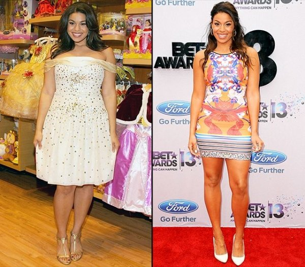 Jordin Sparks - 9 Celebrities That Had a Major Weight Loss…