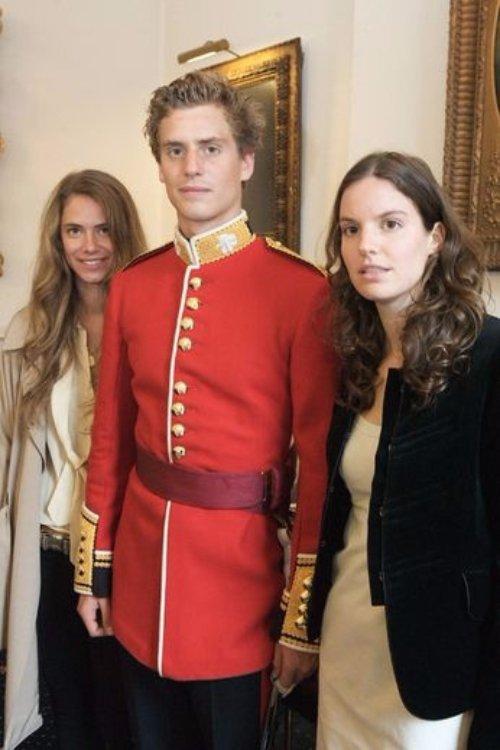 Princess Maria-Anunciata, Prince Josef-Emanuel and Princesses Marie-Astrid of Liechtenstein
