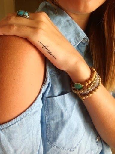 12 free 44 dainty and feminine tattoos beauty for Back of wrist tattoo