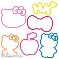 SillyBandz Hello Kitty Shapes