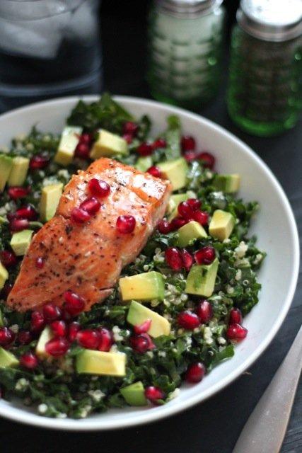 A Salmon Salad is Never a Bad Choice