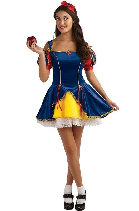 13. Snow White - 29 Adorable Teen Halloween Costumes ... → 👭 Teen