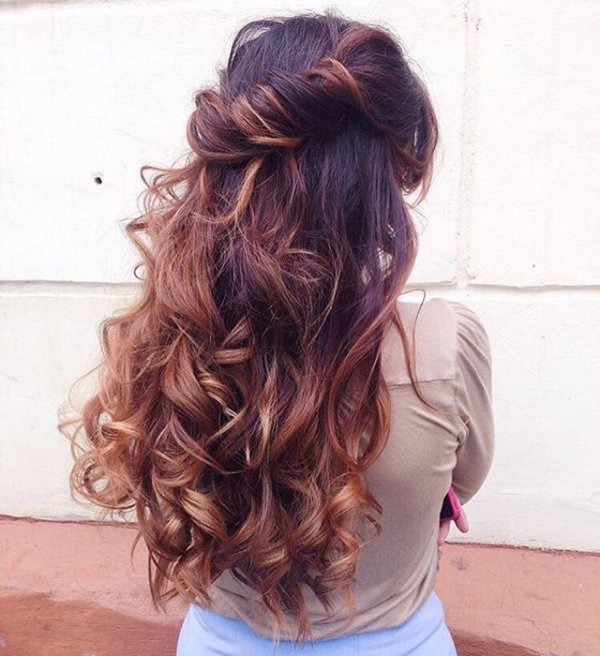 hair, clothing, hairstyle, brown, blond,