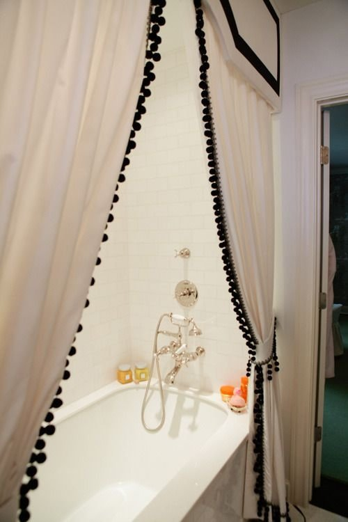 A Fun Border 25 Fantastic Shower Curtains To Spice Up Your
