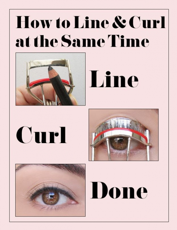 Use Your Lash Curler to Get the Perfect Eyeliner