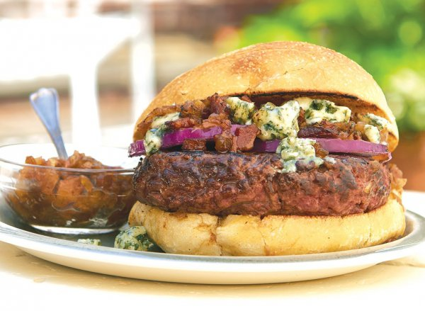 food, dish, hamburger, meat, veggie burger,