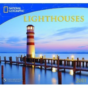 National Geographic Lighthouses 2011 Wall Calendar