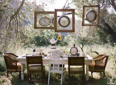 8 lovely tea party ideas lifestyle - Decoration alice aux pays des merveilles ...