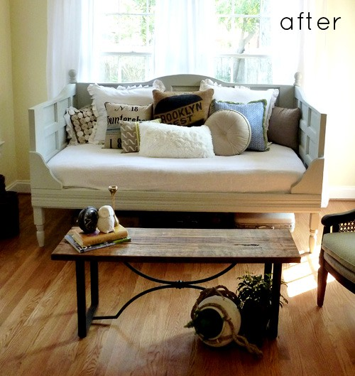 Day Bed Bench 10 Creative Ways To Repurpose An Old Door