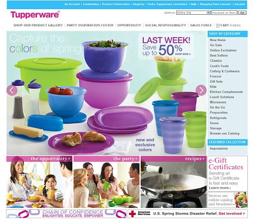 Tupperware Worldwide Perfect Mama Home Based Business Ideas