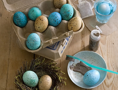 Speckled Eggs - 12 Fantastic DIY Projects for Easter ... …