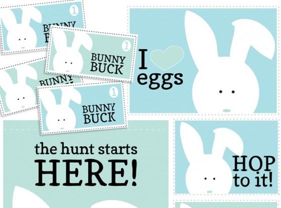 Egg Hunt Signs
