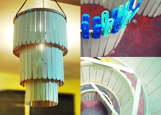 Popsicle Stick Chandelier 10 Insanely Cool Diy