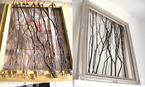 Twig Wall Art 12 creative diy projects using twigs and branches  …