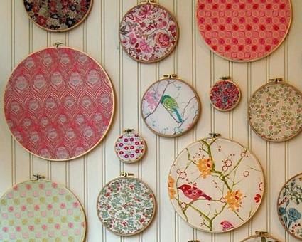 Swatch Portraits 12 Cute Craft Room Decor Ideas