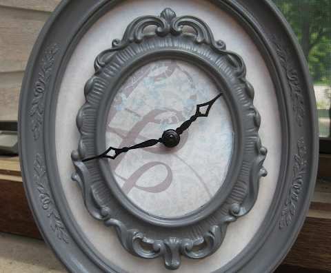 Frames - 15 Chic and Cool DIY Clocks ... Lifestyle