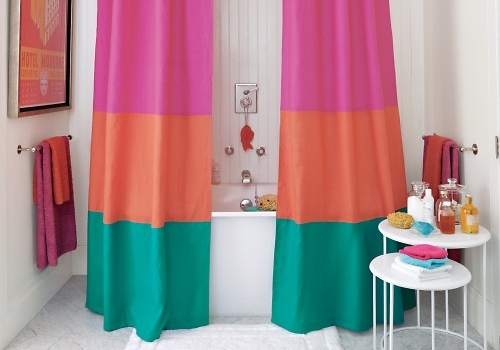 Cortinas De Baño Easy:10 Super Simple DIY Shower Curtains  → ???? Lifestyle