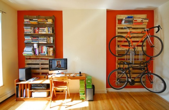 6. Shelves / Racks - 10 Amazing DIY Pallet Projects ... → Lifestyle