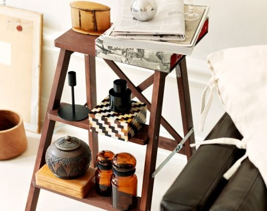 Side Table - 13 Lovely Ways to Repurpose Ladders ... → 🍹…