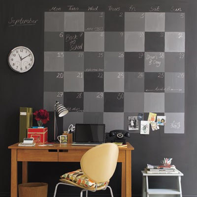 Office 7 amazing chalkboard paint ideas to transform for Office paint ideas